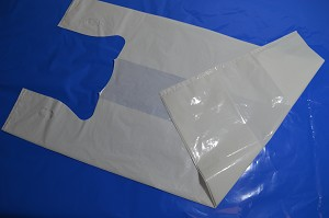 3000 pcs 1 Mil Gusseted T-Shirt bags, Small